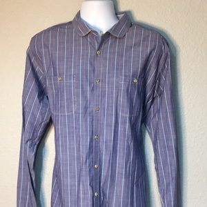 Ted Baker London Men's Blue long sleeve shirt XL